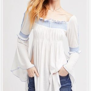 Free People   Valley Top   peasant blouse.